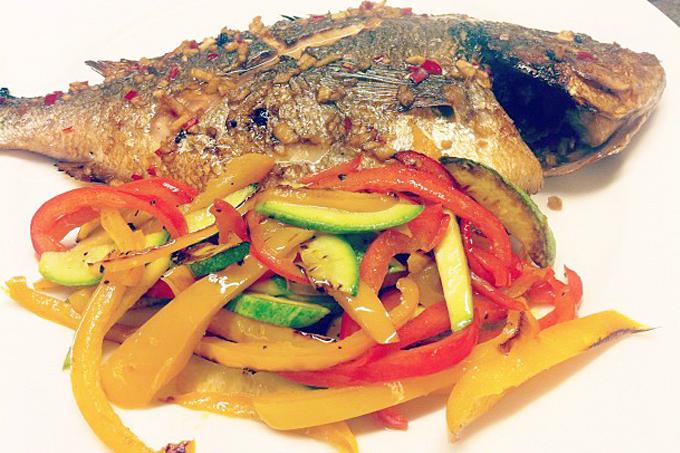Thai usulü balık