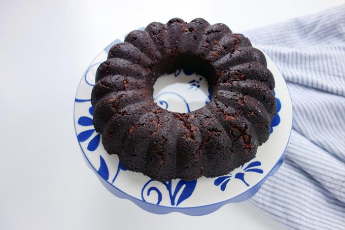 Keçiboynuzu unlu kek